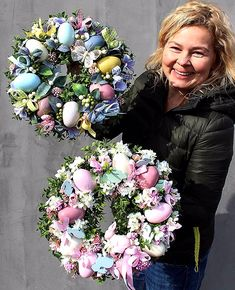 Nautical Wreath for Door, Anchor Wreath, Summer Wreath, Sum Easter Egg Crafts, Easter Projects, Easter Eggs, Easter Bunny, Diy Osterschmuck, Deco Originale, Diy Easter Decorations, Diy Ostern, Easter 2020