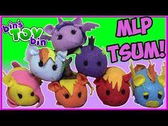 My Little Pony Custom Disney Tsum Tsum Plush! Twilight Sparkle, Fluttershy & MORE   Bin's Toy Bin - YouTube