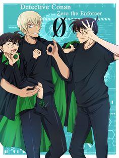 Conan, Amuro Tooru, Magic Kaito, Case Closed, Tokyo Ghoul, Animation, Manga, Anime Boys, Manga Anime