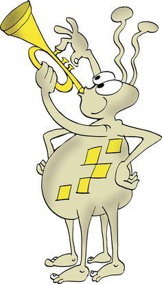 Cheerful Bug Making Music His Trumpet témájú stockvektorkép (jogdíjmentes) 1465137083 Cheer, Kindergarten, Kids, Fictional Characters, Image, Musica, Young Children, Humor, Boys