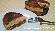 Nepečený vitariánský banánovo-hruškový dort (raw food) :: Syrová strava