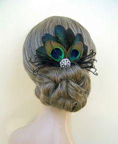 Bella Vista Flower Merchants Blog: A Peacock Feather Wedding Theme