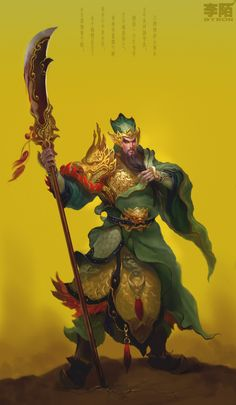 GuanYu.was a general serving under the warlord Liu Bei during the late Eastern Han Dynasty of China.