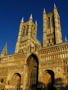 """Donald Drew told me once, """"You haven't lived, unless you have heard the organ play at Lincoln Cathedral, England"""