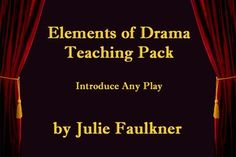 Elements of Drama Power Point Lesson Teaching Pack Lesson Drama Education, Drama Class, Teaching Packs, Teaching Tools, Drama Terms, Elements Of Drama, Sketch Notes, Australian Curriculum, Drama Theater