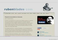 """LOS PRINCIPIOS: Rubén Blades responde a Maduro """"sin ánimo de entab..."""