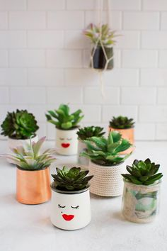 STYLECASTER | Succulent Plants | Home Decor | Home Design Ideas | Home Decor Inspiration | Design Ideas for Every Room in Your House | Super-Cute Succulents