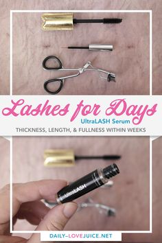 Lashes for Days — Ultra Lash Serum