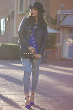 Black & Blue wearing @Charlotte Willner Russe @Cheryl Parker @FOREVER™ 21 @Ana Clausius Alba Leen
