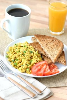 An easy recipe for Basic Tofu Scramble that is simply delicious and can be endlessly adapted with different veggies, herbs, and spices.