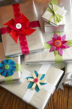 Felt Gift Toppers - GoodHousekeeping.com
