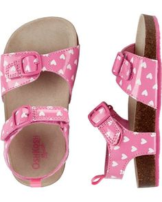 188cbe052c50 Toddler Girl OshKosh Buckle Heart Sandals from OshKosh B gosh. Shop  clothing   accessories from a trusted name in kids