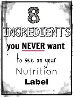 Anti GMO Foods and Fluoridated Water: 8 Ingredients You Never Want to See on Your Nutrition Label
