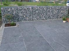 Natuursteen opritten parkings terrassen klinkers - De Vriendt