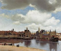 Jan Vermeer van Delft - View of Delft