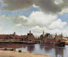 Jan Vermeer van Delft - View of Delft