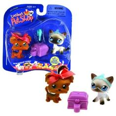 Littlest Pet Shop- man i miss when these were this simple. All the new ones are weird