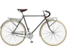 Bike Tech Portugal Anita Messenger 1 velocidade Cores: leite, militar, cinza