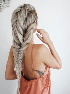 Running out of fresh ideas of cute hairstyles for long hair? Check out our photo gallery of everyday cute and sassy styles for girls with longer hair! Pretty Hairstyles, Braided Hairstyles, Wedding Hairstyles, Kid Hairstyles, Natural Hairstyles, Tape In Hair Extensions, Pinterest Hair, Hair Dos, Gorgeous Hair