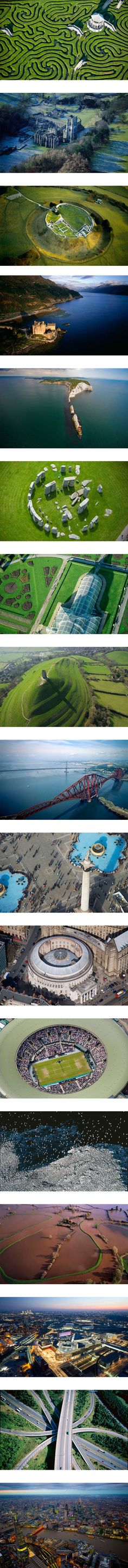#Arial over Britain with Jason Hawkes Aerial Photography