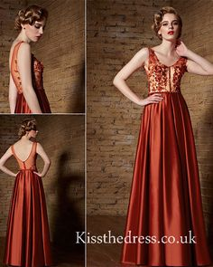 red prom dress at £1
