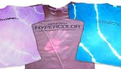 "Hypercolor shirts. Changed color with your body heat. Possible awkward situation when you were talking to someone you ""liked""."