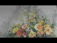 Painting Roses 1. with Ev Hales - YouTube