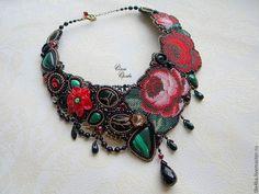 Вышивка бисером. Ожерелья Ольги Орловой