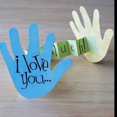 I love you.. THIS MUCH!!!! ;) Great gift for grandmas too
