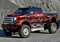 Custom 2007 Ford F650 4x4 F650 Trucks, 4x4 Trucks, Diesel Trucks, Cool Trucks, Ford Work Trucks, Lifted Ford Trucks, Custom Pickup Trucks, Jeep Pickup, Ford F650