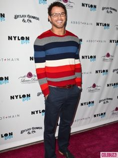 As a color-blind guy I love this - because I KNOW this sweater will match with everything I have! maybe I should just buy multi-colored stuff all the time y'know...