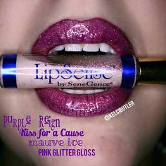 Love this layered look!  #LipSense www.senegence.com/TimelessEleganceByTara