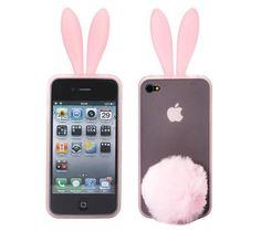 Schattig bunny telefoonhoesje iPhone 4/4s - PhoneGeek.nl