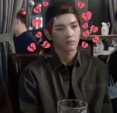 #kpop #taeyong #meme #nct #heart #nct2018 Heart Meme, Memes, Bias Wrecker, Taeyong, Jaehyun, Nct Dream, Kpop, Fictional Characters, Pasta