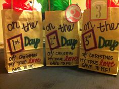 12 days of Christmas for my husband to be :)