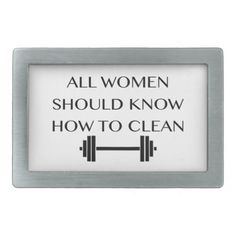 Ain't that the truth.  Weightlifting For Women Rectangular Belt Buckles