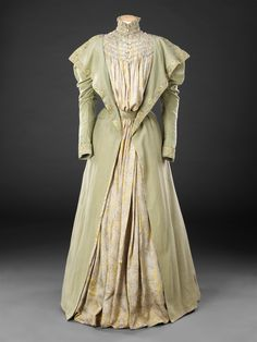 Late 1890s Tea Gown