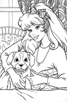 Barbie Coloring Pages Rh Com Adult Book Star Wars Love