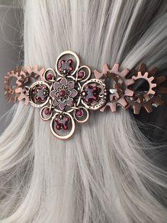 Hair Clip or Copper Thick Hair Clip   Hair by ArcanumByAerrowae