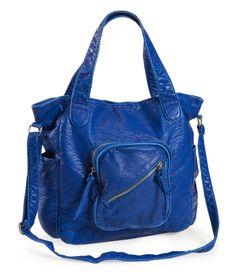 Aéropostale Slant Zip Tote Bag