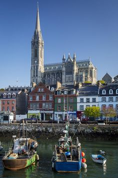 Cobh Boats Ireland Photograph by Brian Jannsen