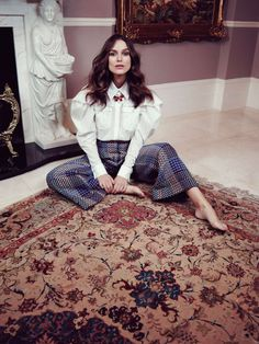 Kiera Knightley for Violet, Issue 3. Styled by Leith Clark; Photographed by Elena Redina; Produced by us in London