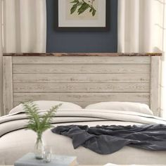 Theus Panel Headboard Essential design alternative in your mattress room is the headboard. In any case, it's the focal point and may change the vibe of a room instantly. Upholstered Panels, Furniture, Headboards For Beds, Mattress Room, Bedroom Design, Bedroom Furniture, Slatted Headboard, Panel Headboard, Diy Headboard