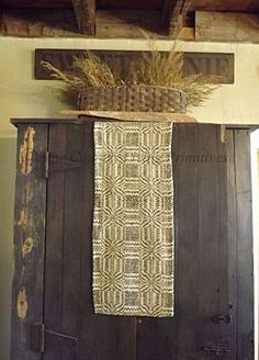 Heirloom Textiles - Fine Country Living Primitives - Primitive Colonial Country Home Decor