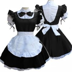 Oktoberfest Costumes Ladies French Maid Cosplay Lingerie Short Sleeve Doll Collar Retro Fancy Maid Dress Outfit Cosplay Costume - Oktoberfest Costumes Ladies French Maid Cosplay Lingerie Short Sleeve Doll Collar Retro Fancy Maid D - Edgy Outfits, Girl Outfits, Cute Outfits, Fashion Outfits, Ladies Fashion, Rock Fashion, Lolita Fashion, Dress Fashion, Fashion Boots