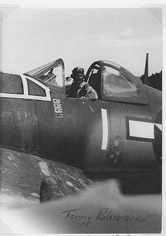 "Corsair 1. John Thomas ""Tommy"" Blackburn"