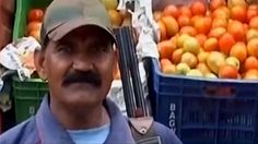 """Armed guards for tomatoes in India as prices rise https://tmbw.news/armed-guards-for-tomatoes-in-india-as-prices-rise  By News from Elsewhere... ...as found by BBC MonitoringThe price of tomatoes has risen so much in India that armed guards have been deployed to protect shipments of them in one state.The Hindustan Times on Sunday cited a wholesaler at a market in the city of Indore, in Madhya Pradesh state, saying that the security of tomatoes was of """"considerable concern"""" because of their…"""