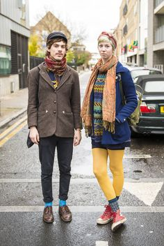 CLR Street #fashion: Johan and Sara in London #streetstyle