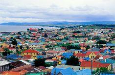 Punta Arenas Chile, uno de los los del Sur la Mayor parte de Ciudades en el Mundo