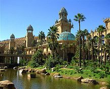 Palace of the Lost City at Sun City in North West, South Africa Sun City South Africa, South Africa Tours, Sun City Resort, North West Province, African Holidays, Namibia, Fantasy Places, Parc National, Lost City